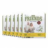 Friends Adult Diaper (Easy) – Medium (Pack of 6)