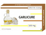 Garlicure Garlic Oil 0.25% 500Mg Capsules