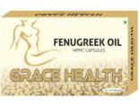 Grace Health Fenugreek Oil 500Mg Veg Capsules