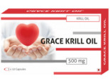 Grace Krill Oil Capsules 500mg Capsules