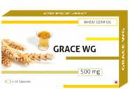 Grace-Wg Wheat Germ Oil 500Mg Capsules