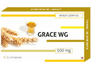 Grace-Wg Wheat Germ Oil 500Mg Capsules