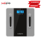 Healthgenie Digital Personal Body Fat Analyzer(HB-301))-Grey