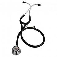 Healthgenie Cardiology SS Double Diaphragm Stethoscope HG-403B (Black)