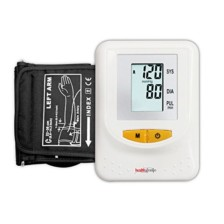 Healthgenie Digital Upper Arm Blood Pressure Monitor (BP Monitor) BPM01 Fully Automatic | Batteries Included | 2 Year Warranty