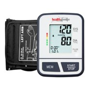 Healthgenie BP Monitor digital Upper arm BPM02T Talking Automatic with irregular heart beat indicator – 24 MONTHS WARRANTY