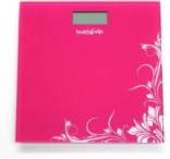 Healthgenie Digital Weighing Scale (Pink)