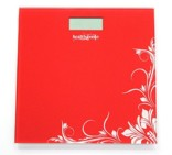 Healthgenie Digital Weighing Scale (Red)