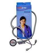 Healthgenie Doctor Dual Aluminum Stethoscope HG-203G(Grey)