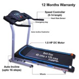 Healthgenie Drive Motorized Treadmill 4012A with Auto Incline