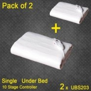 Healthgenie Electric Blanket Combo Offer Pack of 2 UBS 203