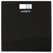 Healthgenie Digital Weighing Scale HD-221 (Brushed Black)