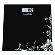 Healthgenie HD221 Digital Weighing Scale (Black)
