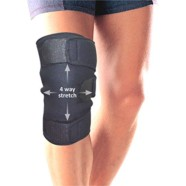 Healthgenie Knee Support Neoprene 4 Way Stretch. Size : UNIVERSAL , high compression