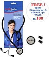 Healthgenie Mono Nurses Stethoscope HG-101 B (Black)