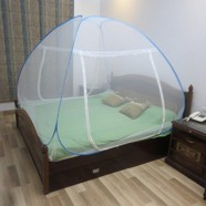 Healthgenie Double Bed Mosquito Net (Blue)