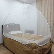Healthgenie Single Bed Mosquito Net (White)