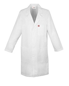 Healthgenie Unisex Full sleeves Doctor's lab coat (42)