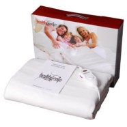 Healthgenie white Electric Blanket Single Bed Under, size(150 x 80 cm) UBS 203 washable, 10 Stage temp controller