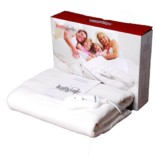 Healthgenie white Electric Blanket Single Bed Under, size(150×80 cm) UBS 103 washable,3 Stage temp controller