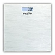 Healthgenie Digital Weighing Scale HD-221 Silver Brushed Metalic ( latest collection ) – With Back Light
