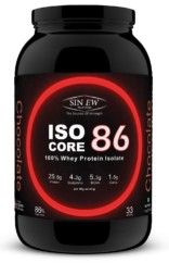 Sinew Nutrition Whey Isolate Isocore 86, Whey Isolate Protein Powder, 1Kg / 2.2 lbs – Chocolate Flavour