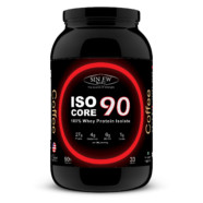 Sinew Nutrition Whey Isolate Isocore 90, Whey Isolate Protein Powder, 1Kg / 2.2 lbs – Coffee Flavour