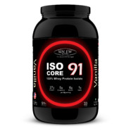 Sinew Nutrition Isocore91 100% Whey Protein Isolate Powder, 1 Kg / 2.2 Lbs – Vanilla