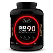 Sinew Nutrition Whey Isolate Isocore 90, Whey Isolate Protein Powder, 2Kg / 4.4 lbs – Coffee Flavour