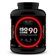 Sinew Nutrition Whey Isolate Isocore 90, Whey Isolate Protein Powder, 3 Kg / 6.6 lbs – Coffee Flavour