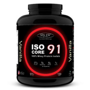Sinew Nutrition Isocore91 100% Whey Protein Isolate Powder, 3 Kg – Vanilla Flavour