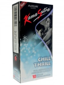 KamaSutra Chill Thrill Condom -3 pcs