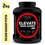 Sinew Nutrition Elevate Mass Gainer, Complex Carb Proteins in 3:1 ratio with DigiEnzymes, 2kg / 4.4lb – Kesar Badam Pista Flavour