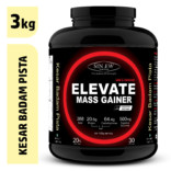 Sinew Nutrition Elevate Mass Gainer, Complex Carb & Proteins in 3:1 ratio with DigiEnzymes, 3kg / 6.6lb – Kesar Badam Pista Flavour