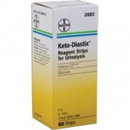 Keto-Diastix Reagent Strip. 50 Per Box