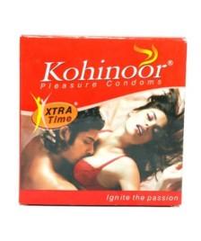 Kohinoor Condom Xtra Time Dots 10s