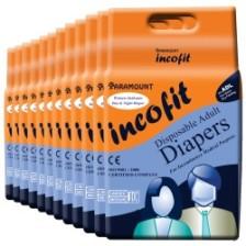 Incofit Premium Adult Diaper Medium pack of 120