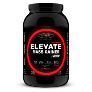 Sinew Nutrition Elevate Mass Gainer, Complex Carb & Proteins in 3:1 ratio with DigiEnzymes, 1kg / 2.2lb – Kesar Badam Pista Flavor