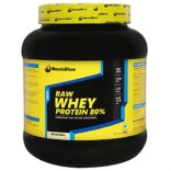 MuscleBlaze 80% Whey Protein Supplement Powder, 1 kg (Unflavoured)