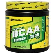 MuscleBlaze BCAA 6000 , 400g (50 Servings) Pineapple
