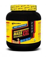 MuscleBlaze Mass Gainer XXL, 1 kg / 2.2 lb Cafe Mocha