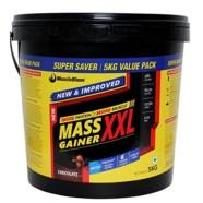 MuscleBlaze Mass Gainer XXL, Chocolate 5kg / 11 lbs