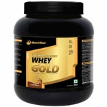 MuscleBlaze Whey Gold, 1 kg / 2.2 lb Rich Milk Chocolate