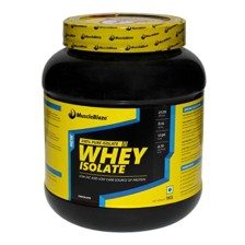 MuscleBlaze Whey Isolate, Chocolate, 2.2 lbs (1kg)
