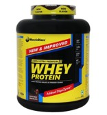 MuscleBlaze Whey Protein Supplement Powder with Digestive Enzyme, 2 kg/4.4 lb, 60 Servings (Rich Milk Chocolate)