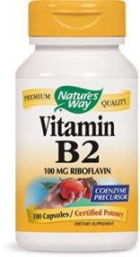 Vitamin B2 100mg Tablets (Riboflavin)-100 Tablets