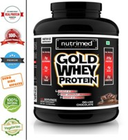 Nutrimed Gold Whey Protein 5 Lb – Chocolate