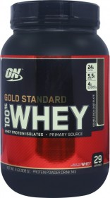 Optimum Nutrition (ON) 100% Whey Gold Standard – 2 lbs (Double Rich Chocolate)
