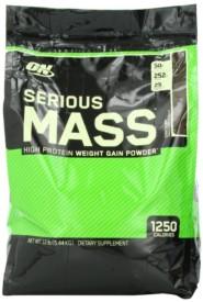 Optimum Nutrition (ON) Serious Mass – 12 lbs ( Chocolate )