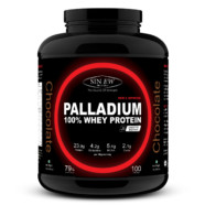 Sinew Nutrition Palladium 100% Whey Protein Concentrate Powder 3 Kg / 6.6 Lbs (100 Servings) Chocolate Flavour